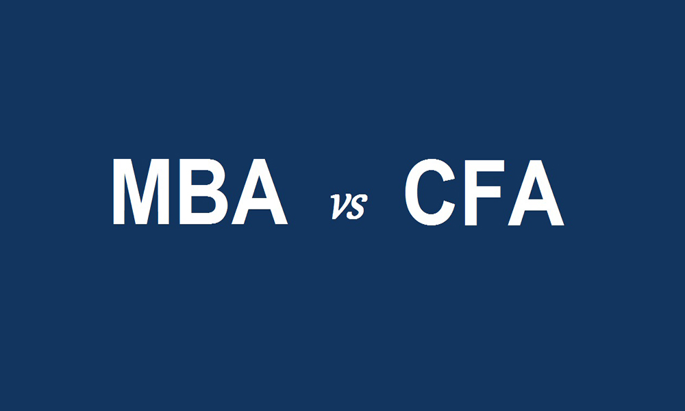 CFA vs. MBA Finance