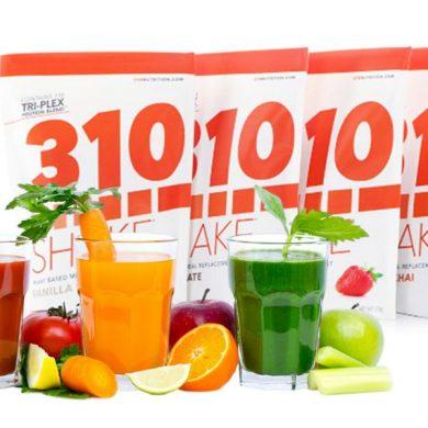 310 shake ingredients