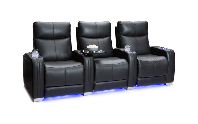 Seatcraft Solstice Leather Home Theatre Seating